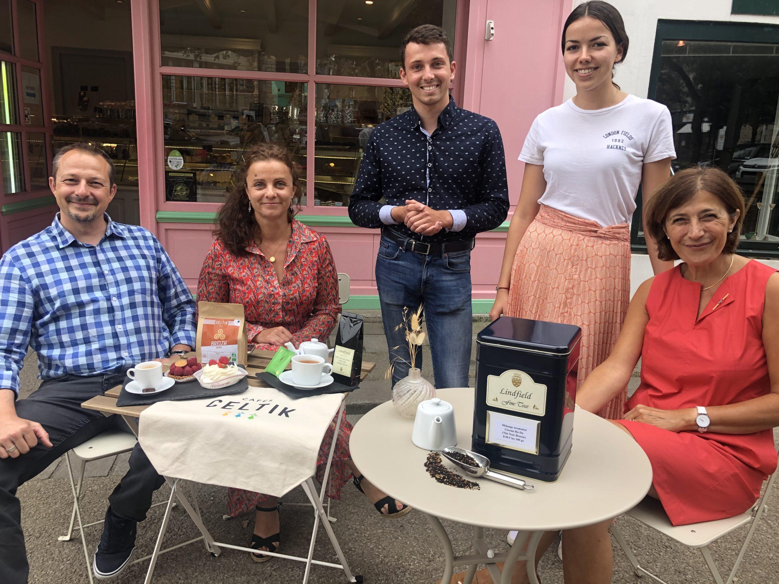 Café Pfaff et thé Lindfield s'invitent à la Pâtisserie La Briacine