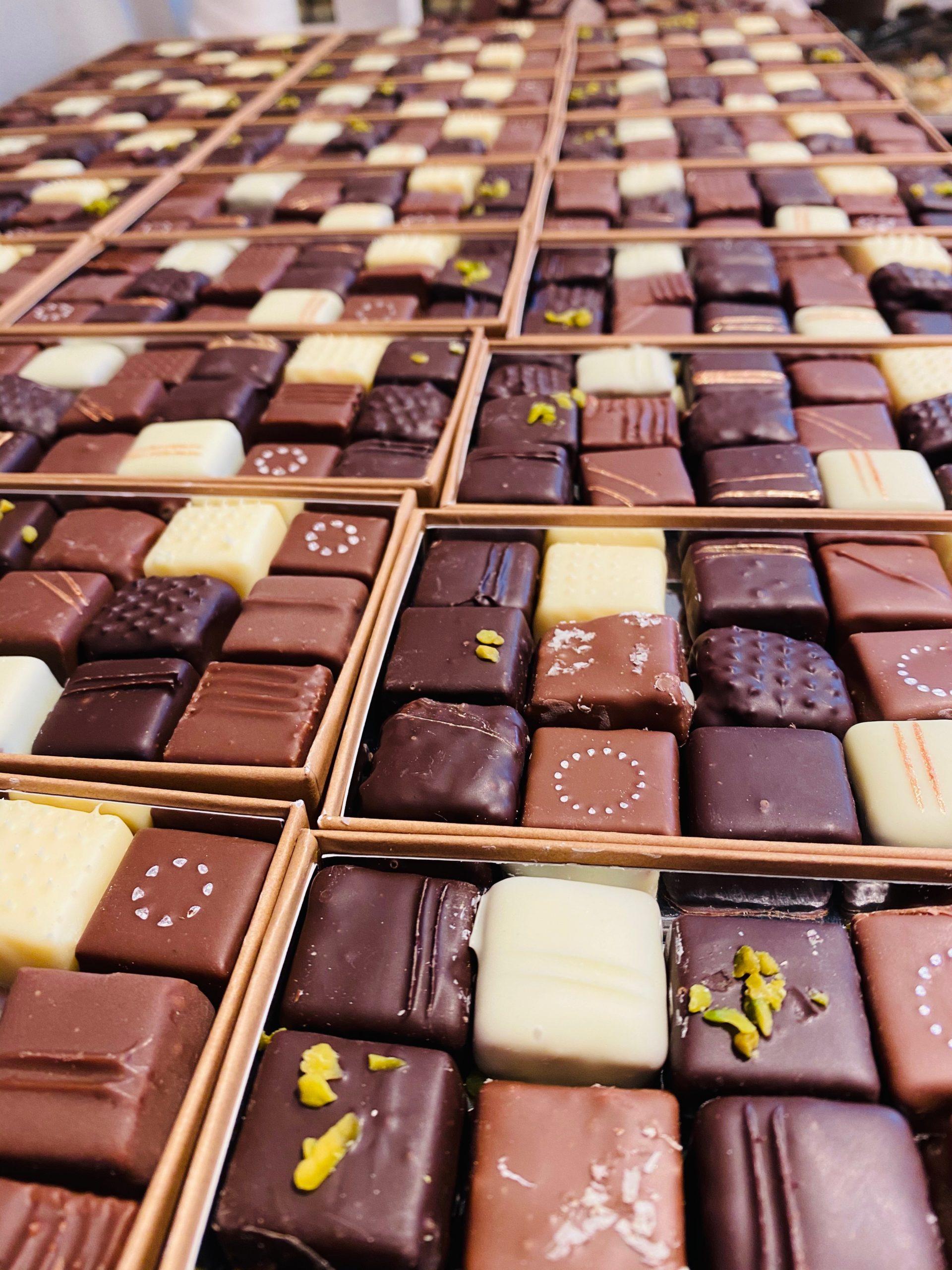 Chocolats de La Briacine par le chef François Jehannin