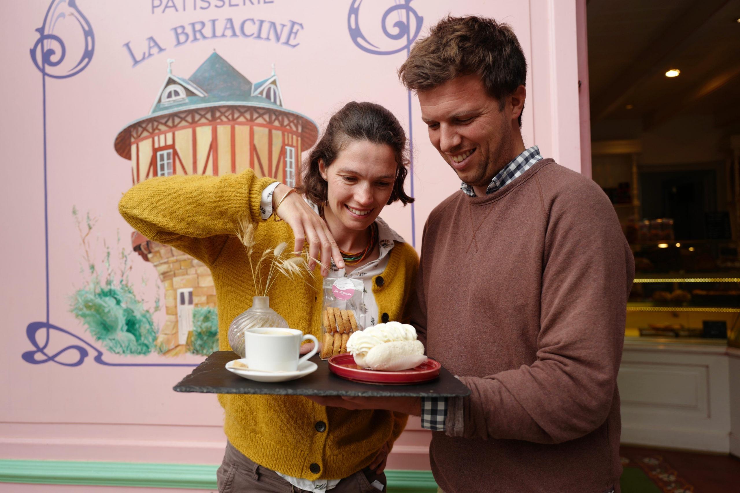 Caroline et Matthieu Gailly, Pâtisserie La Briacine Saint-Briac