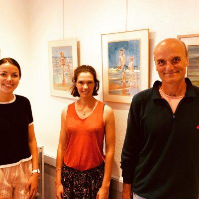 Jacques Berland, Galerie La Boucherie Saint-Briac - exposition à la Briacine